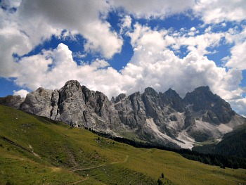 The Pale San Martino And San Lucano Are Part Of The